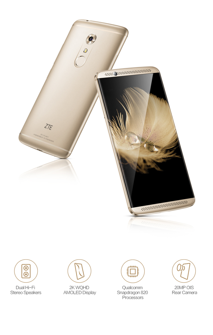 ZTE Axon 7 - Redefining Flagship Audio Experience - Product -
