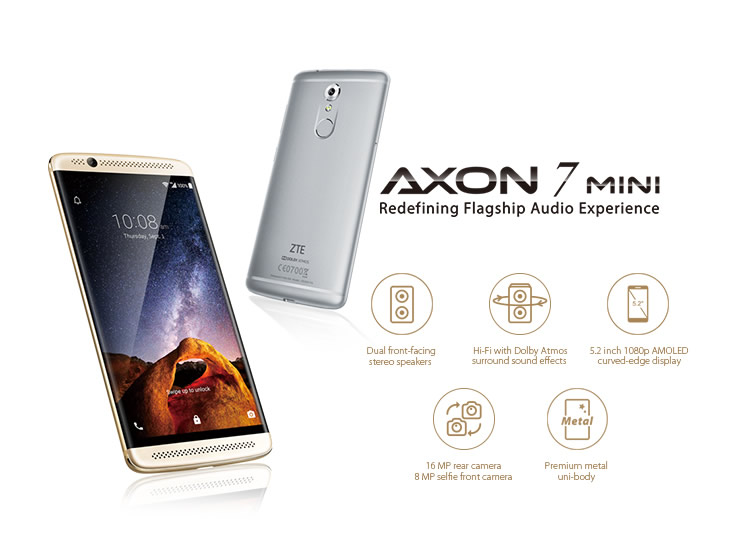 ZTE Axon 7 mini - Redefining Flagship Audio Experience