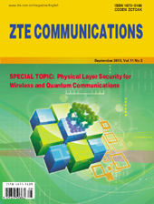 Physical Layer Security for Wireless and Quantum Communications No.3 2013, No.39 in all volumes