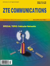 Vehicular Networks No.1 2014, No.41 in all volumes