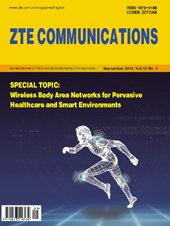 Wireless Body Area Networks for Pervasive Healthcare and Smart Environments No.3 2014, No.43 in all volumes