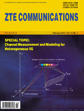Channel Measurement and Modeling for Heterogeneous 5G No.1 2017, No.55 in all volumes