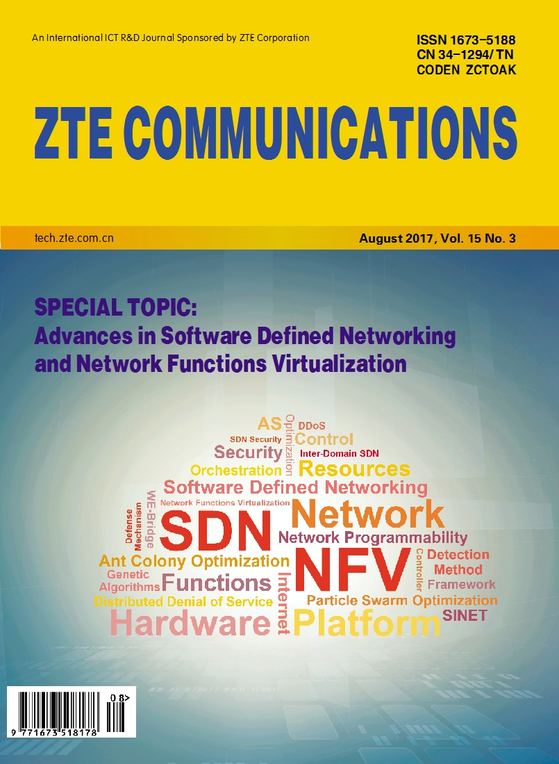 Advances in Software Defined Networking and Network Functions Virtualization No.3 2017, No.58 in all volumes