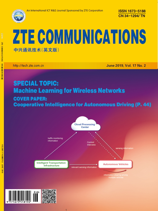 Special Topic: Machine Learning for Wireless Networks No.2 , No.66 in all volumes