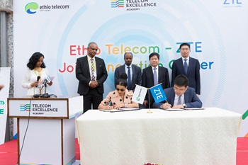 ZTE and Ethio Telecom Launch a Joint Innovation Center in Ethiopia